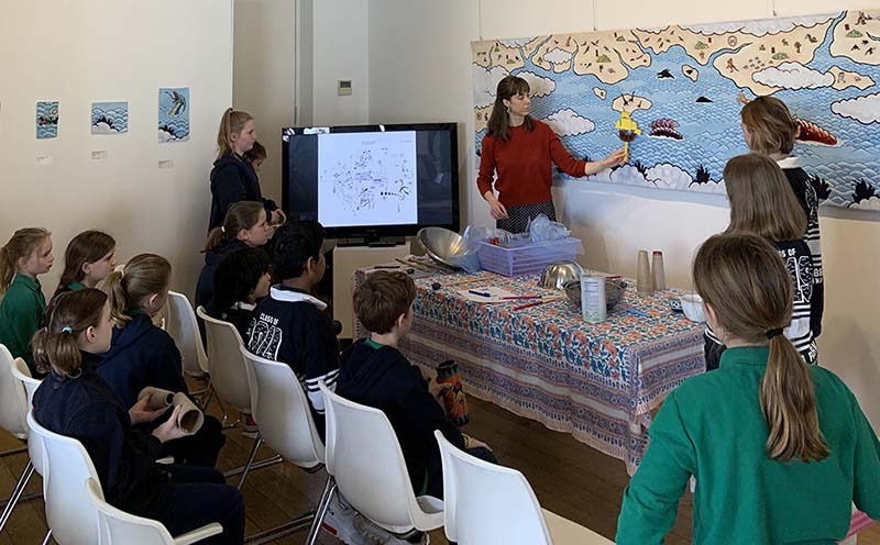 Albert Park Primary Sound and Colour Workshop with Zela Papageorgiou.