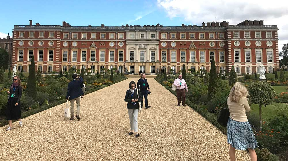 Hampton Court. Image by Antonia Syme.