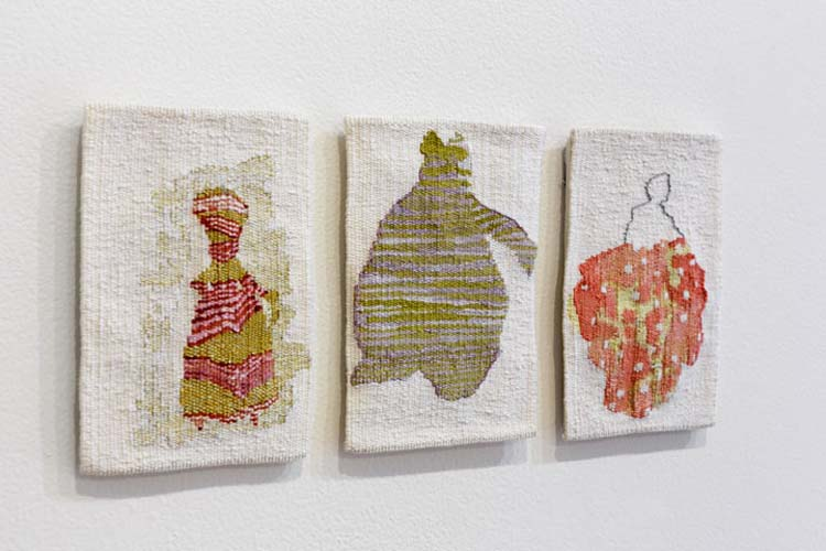 Tapestries designed by Andrew Cooks woven by Milly Formby.